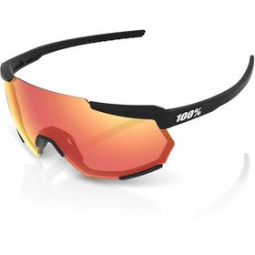 100% Racetrap Gafas, soft tact black/hiper multilayer mirror